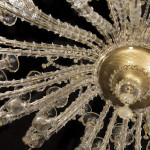 custom murano glass chandelier