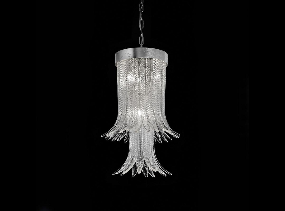 blown-glass-chandelier-lighting-1850-s-clear-h63