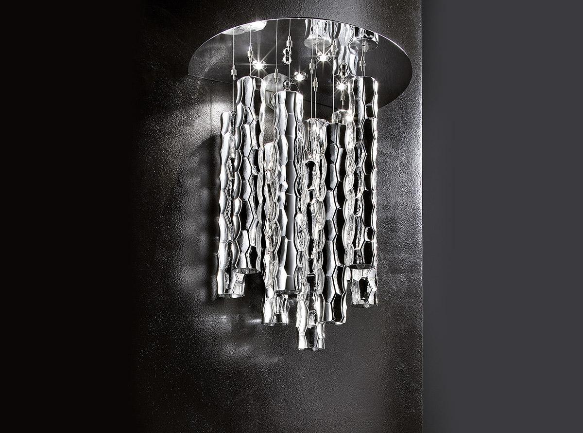 3700_AG_bambu_Italian art glass chandeliers