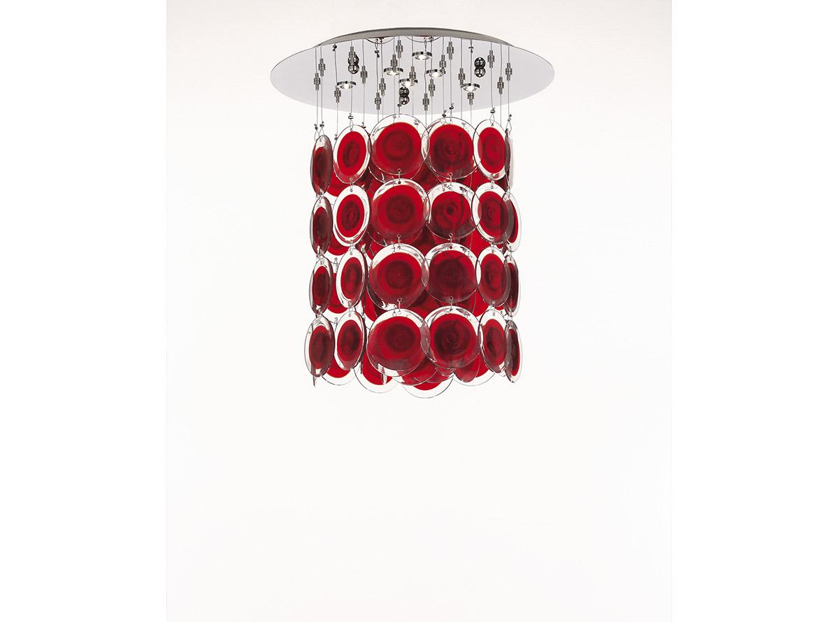 3800-S1-13_dischi_venetian glass chandelier