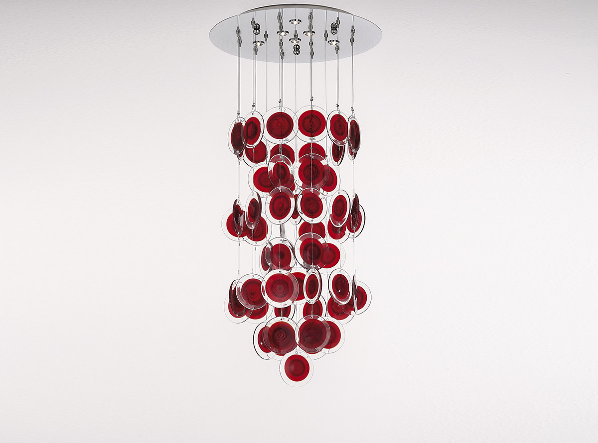 3800-S3-13_dischi_venetian glass chandelier