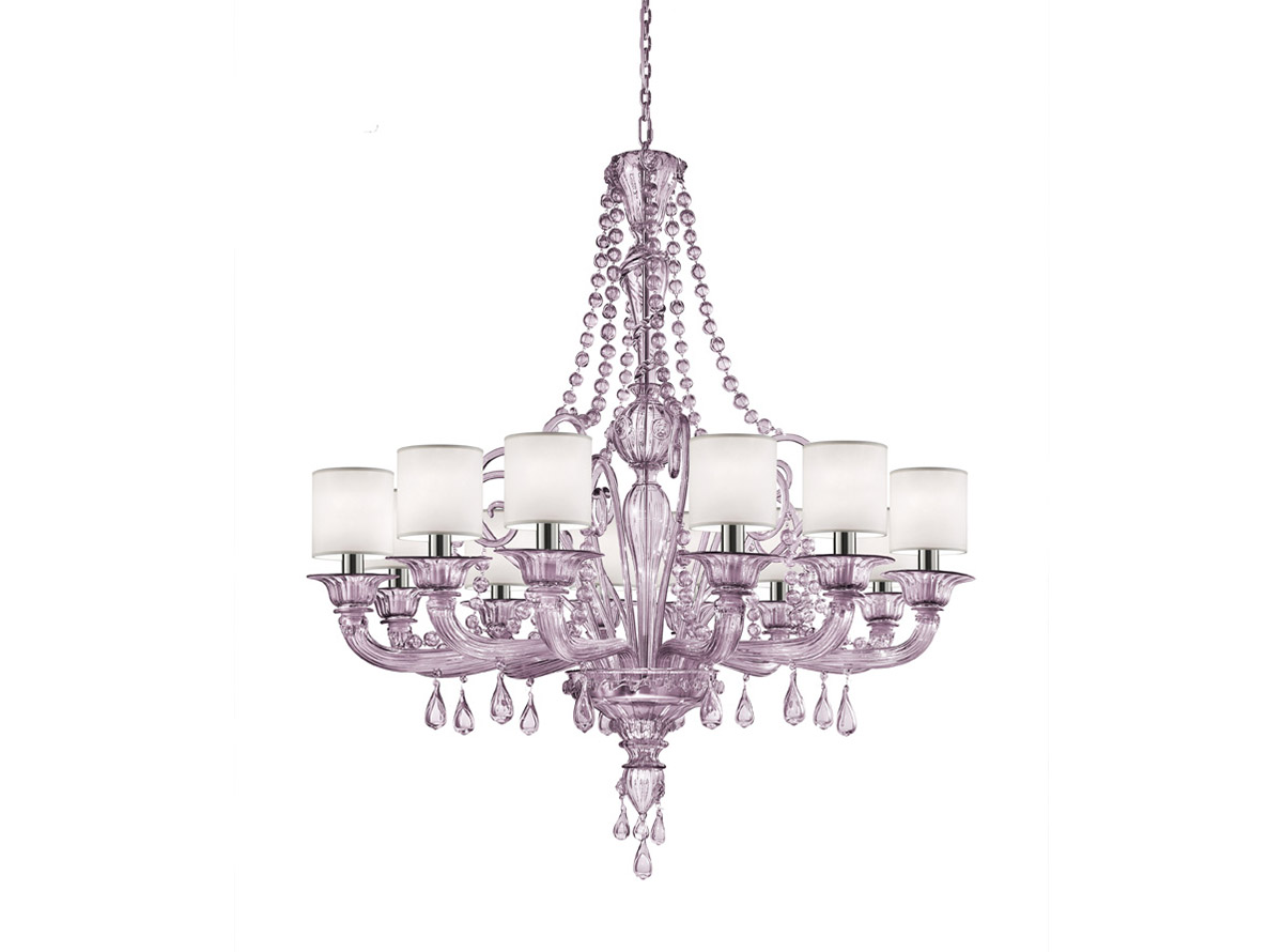 murano-glass-lighting C-2304-12P-violet