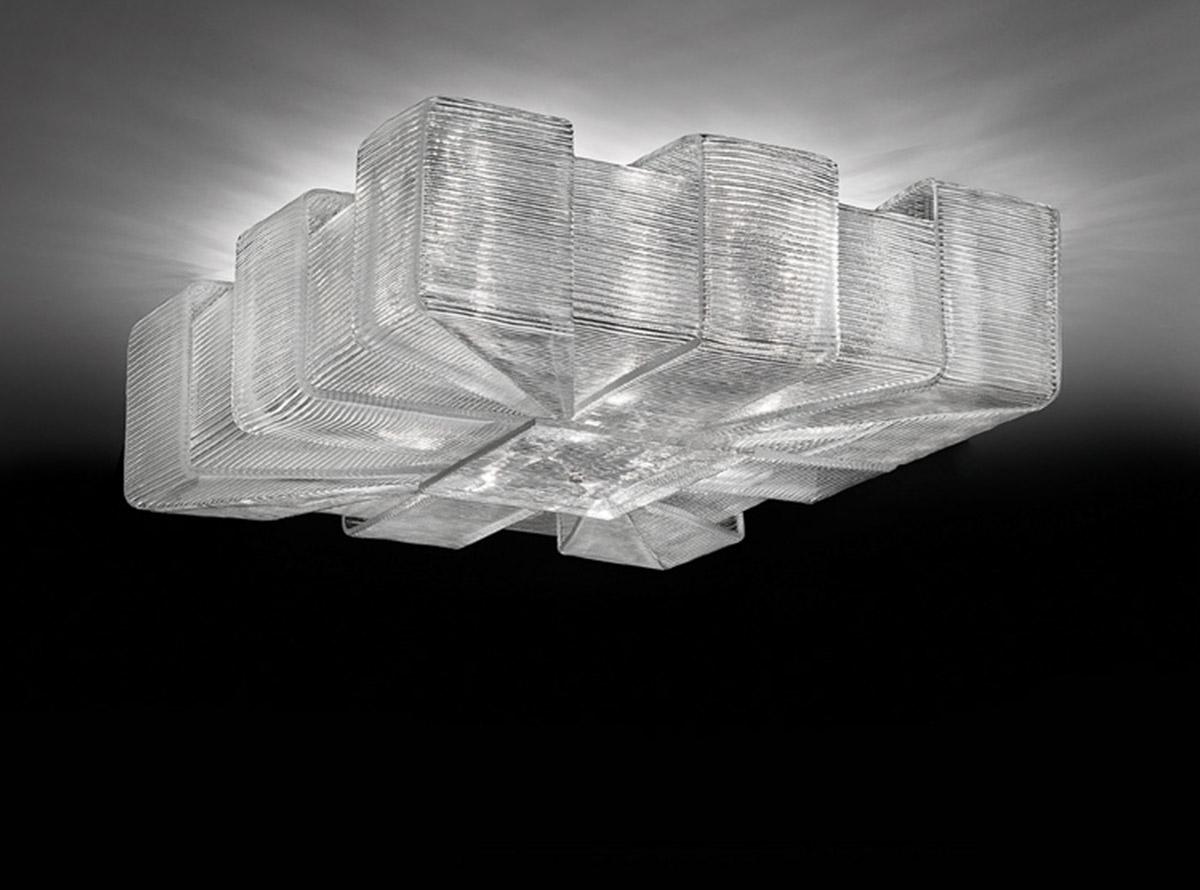 Italian glass chandelier-1305-P-pattern-O