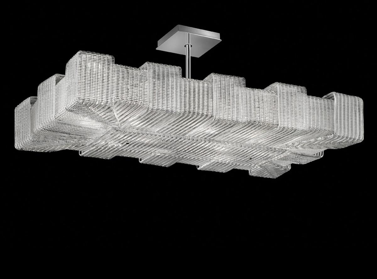 Italian glass chandelier-1315-S-pattern-O