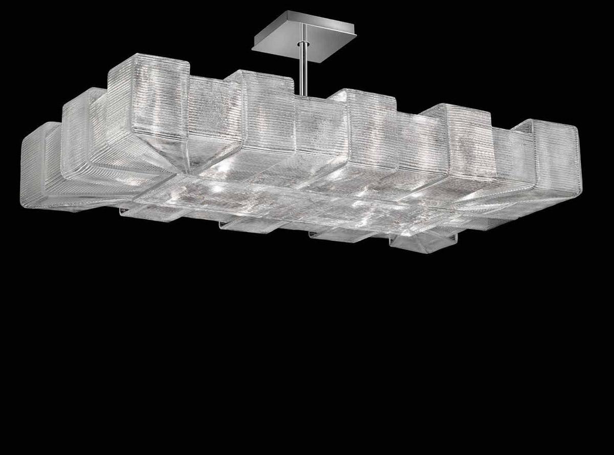 Italian glass chandelier-1315-S