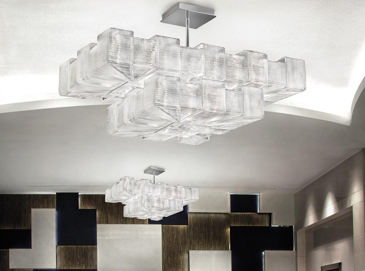 Italian glass chandelier-1325-S