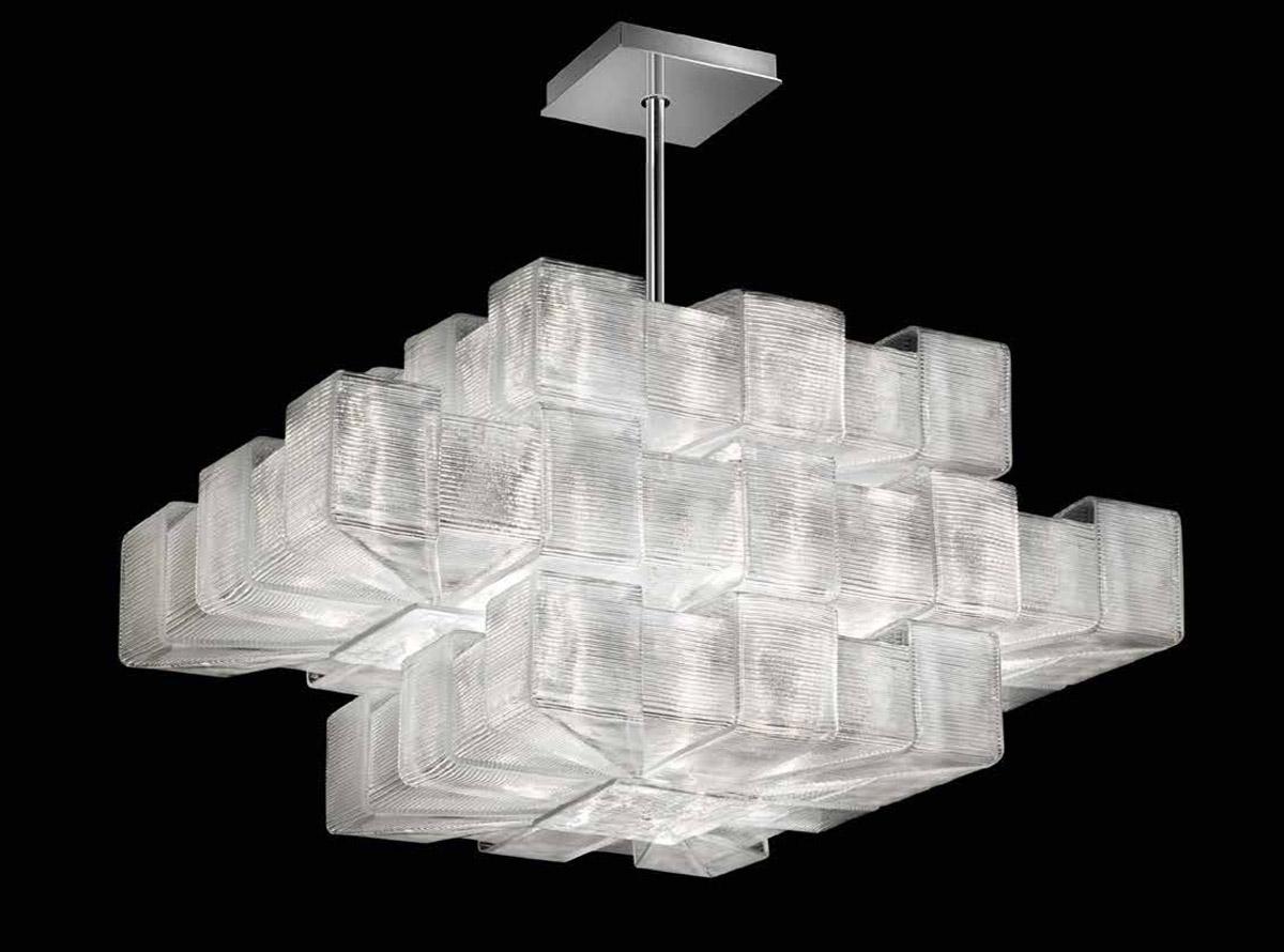 Italian glass chandelier-1345-S