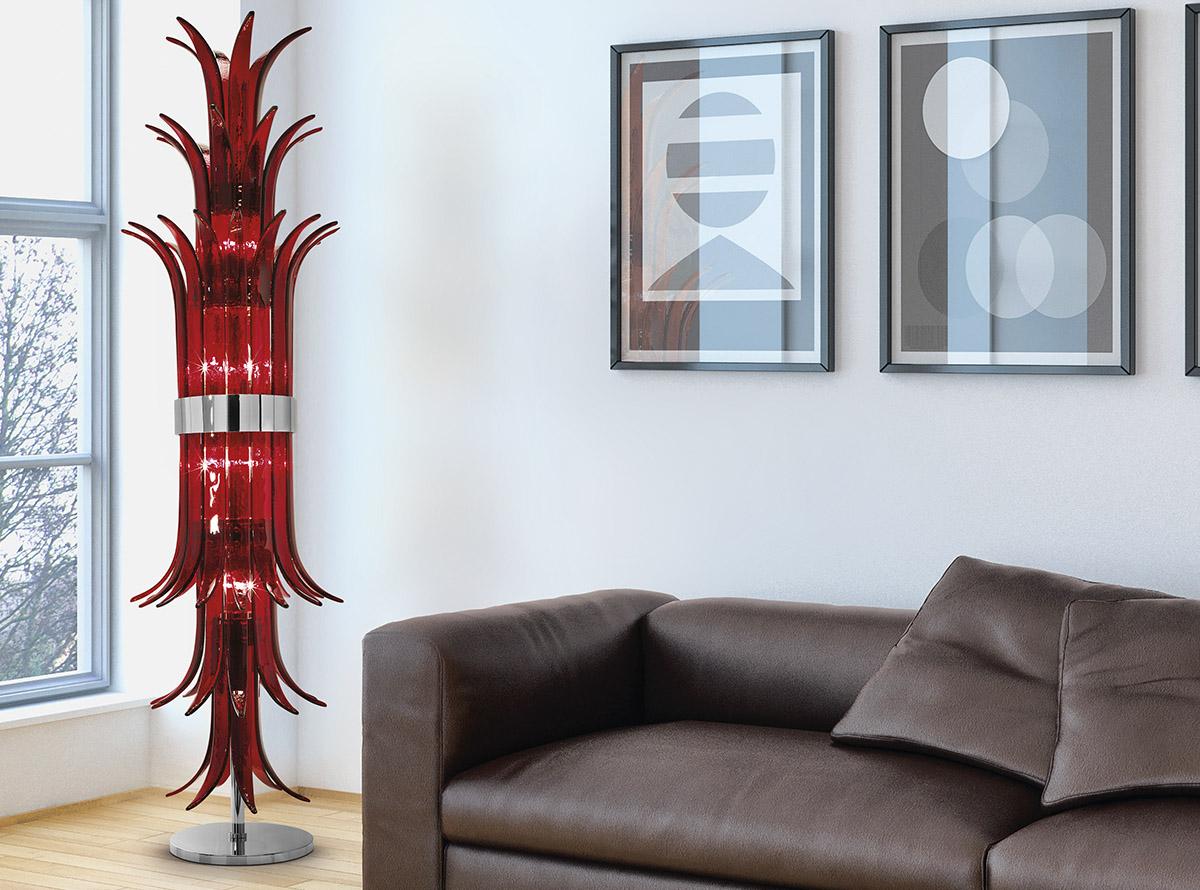 Venetian glass chandelier-sciabole2_1300