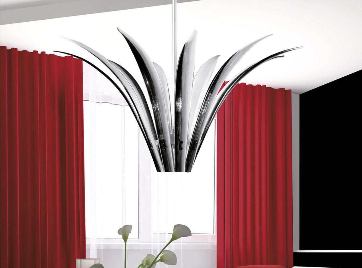 Venetian glass chandelier-sciabole2_C-12600