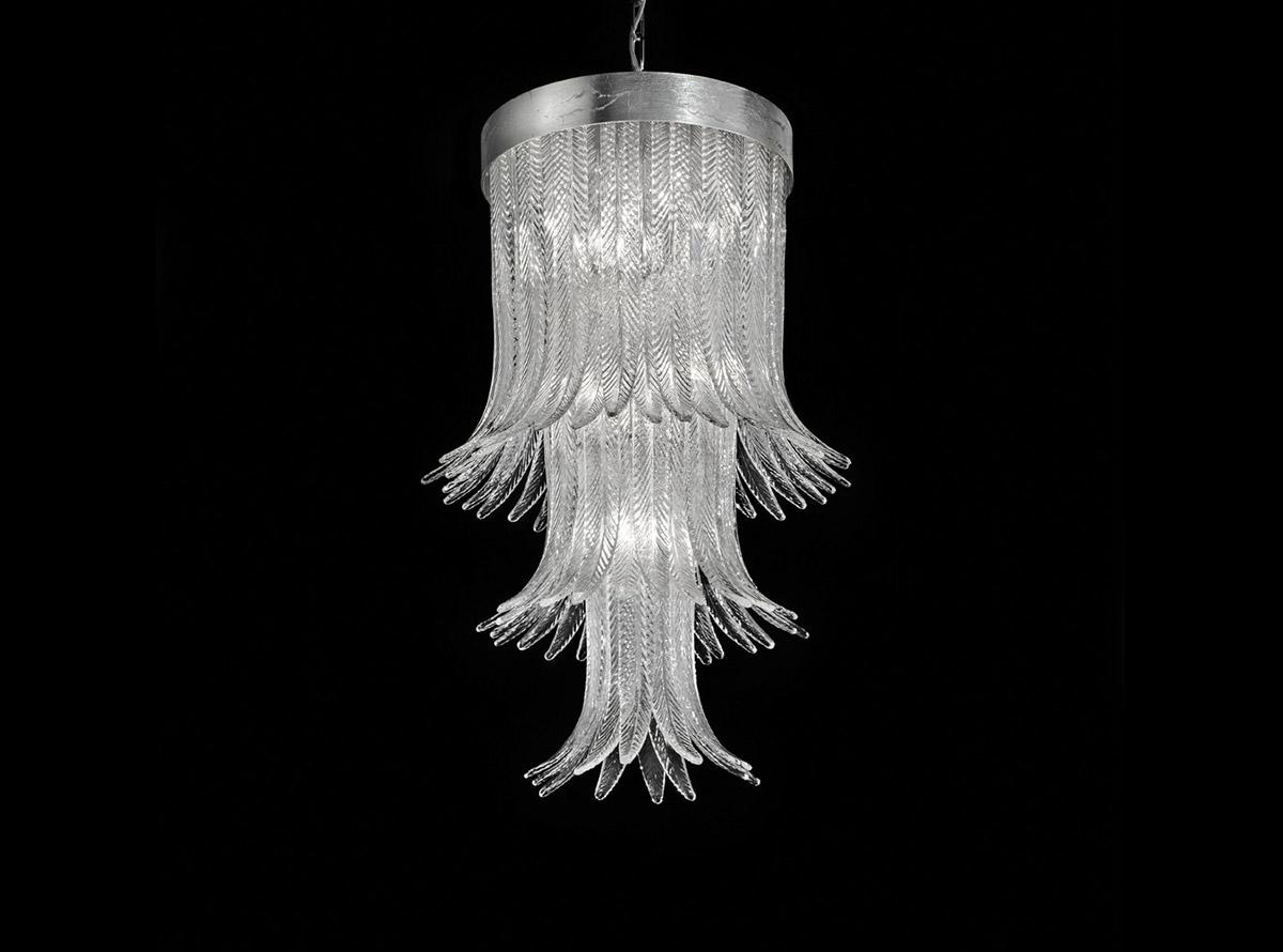 blown-glass-chandelier-lighting-1850-s-clear-h82