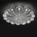 Light sculptures: Murano glass lamp Naga