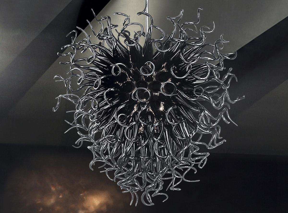 custom-blown-glass-chandeliers-E.H.F.5-black-ghirigori