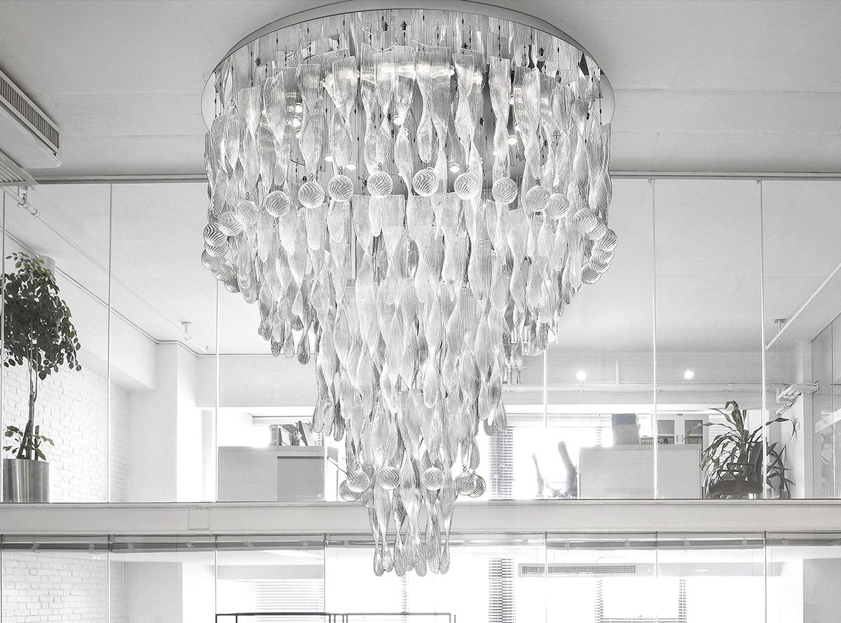 venetian-glass-chandelier-C-3500S -eliche