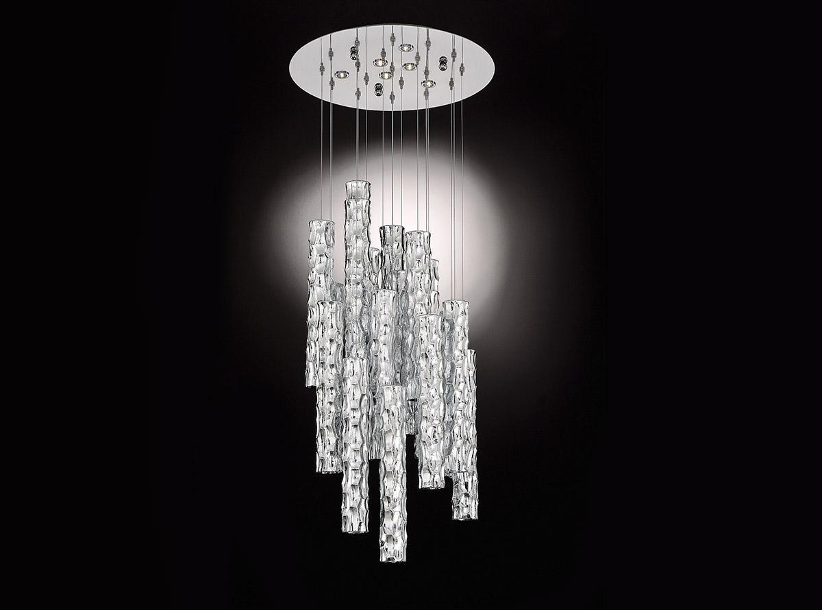 3700-S5-20-bambu_Italian art glass chandeliers