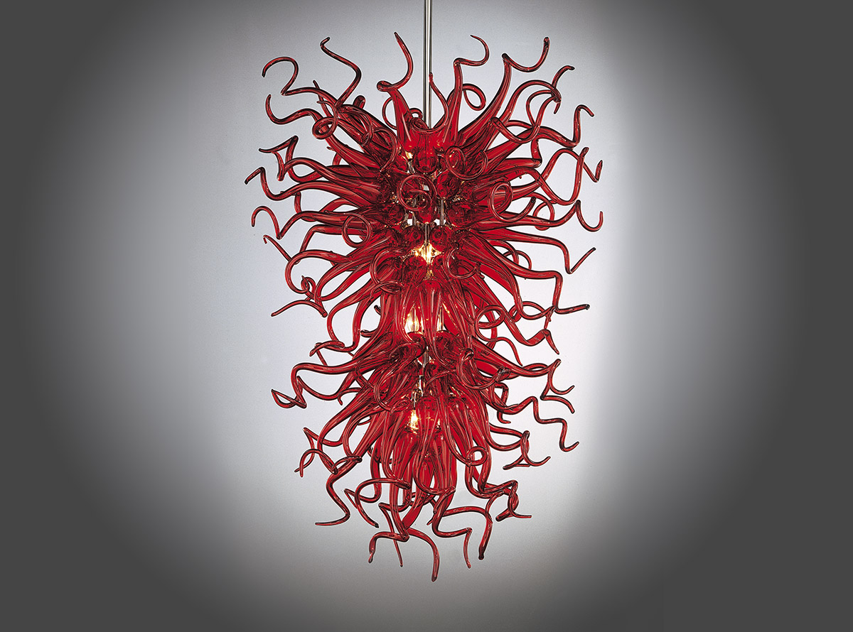 custom-blown-glass-chandeliers-E.H.F.6-red-ghirigori