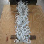 Blown glass light sculptures - Ghirigori