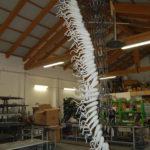 Custom blown glass light sculptures - Ghirigori