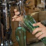Hand blown glass light fixtures - Ghirigori