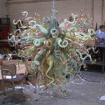 Italian art glass chandeliers - Ghirigori