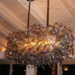 Murano blown glass chandelier - Ghirigori