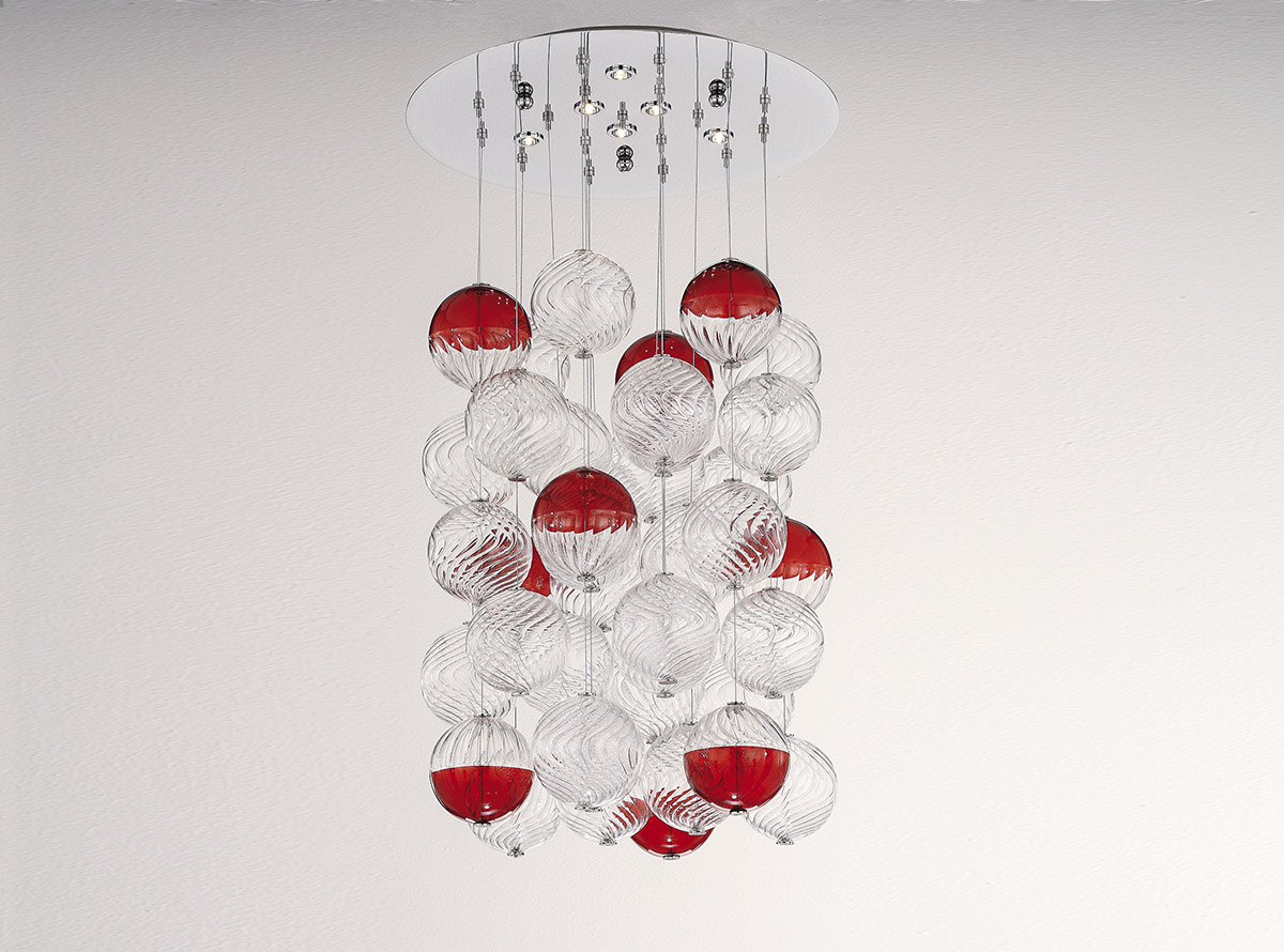 blown-glass-chandelier-4100-S3-red-bolle-vetro