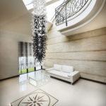 Custom blown glass chandeliers - Ghirigori