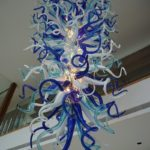 Custom blown glass chandeliers - Ghirigori - C-E.H.F.6