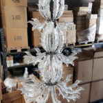 Fresco Murano glass chandelier