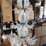 Fresco Murano glass chandelier