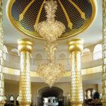 Fresco: lampadario in vetro di Murano