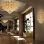 Fresco Venetian glass chandeliers