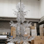 Fresco Venice glass chandelier