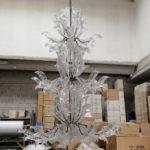 Lampadario in vetro Veneziano della collezione Fresco: le fasi della creazione