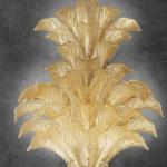 Lampadario della collezione Fresco: lampadario in vetro veneziano