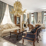 Fresco collection: venetian glass chandelier