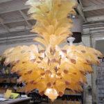Fresco luxury handmade Murano glass chandelier