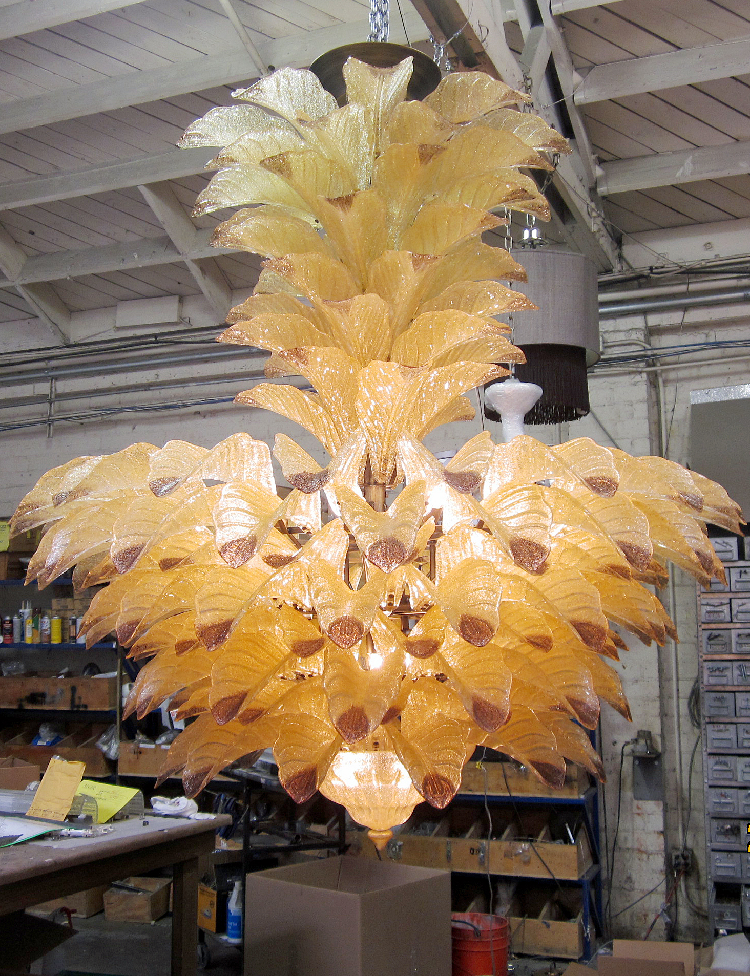 Fresco Luxury Handmade Murano Glass Chandelier