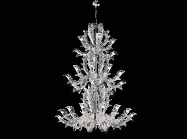 Il lampadario in vetro veneziano si rinnova: Fresco 995 27