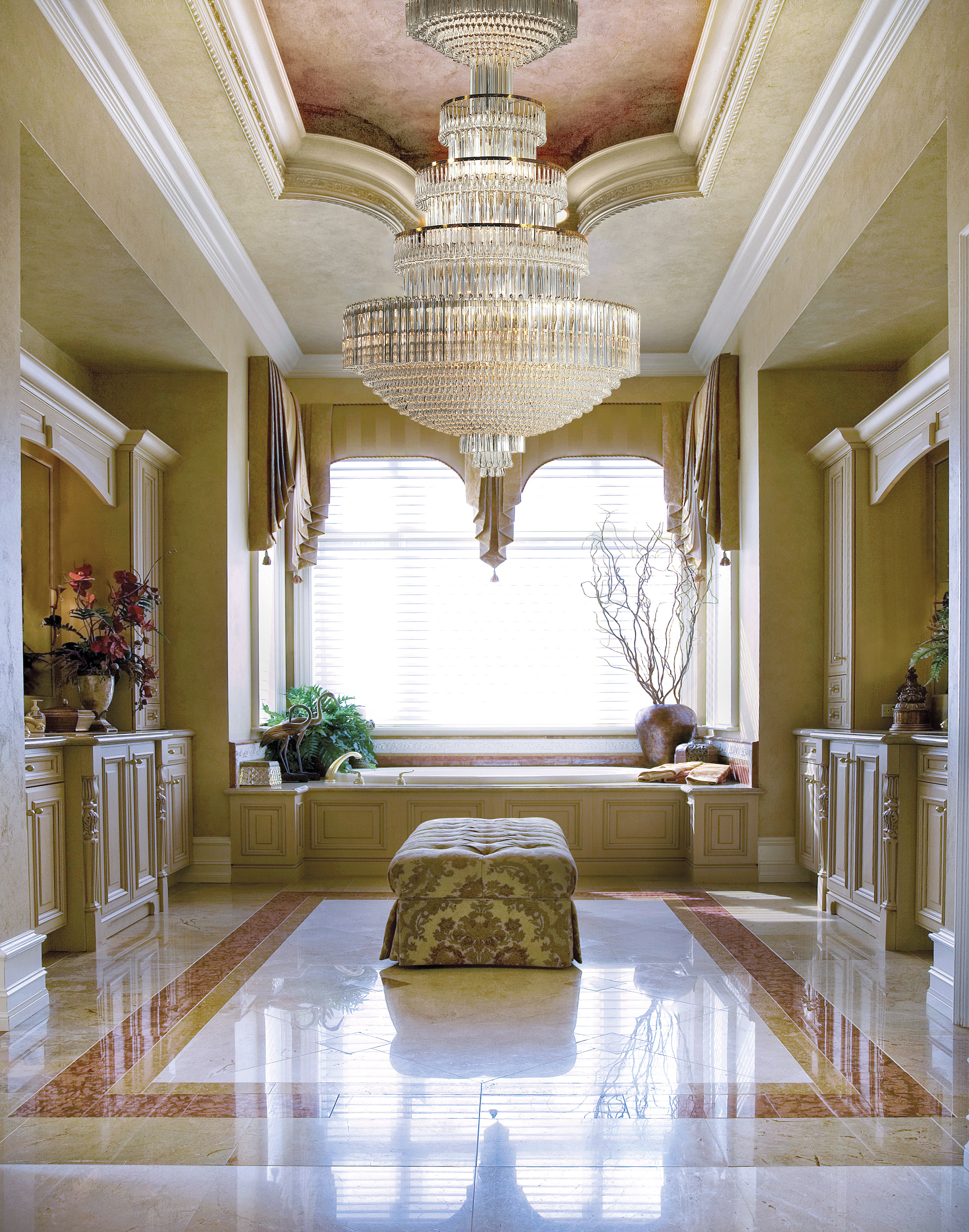 contemporary glamour zoom chrome chandelier lighting