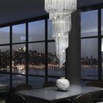 Lampadari in vetro di Murano veneziano personalizzati