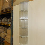 Murano glass wall lamp