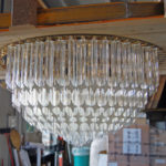 Murano glass custom lighting