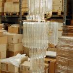 Venice glass chandelier