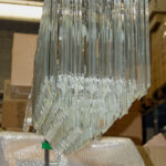 Venice glass chandelier Ambient