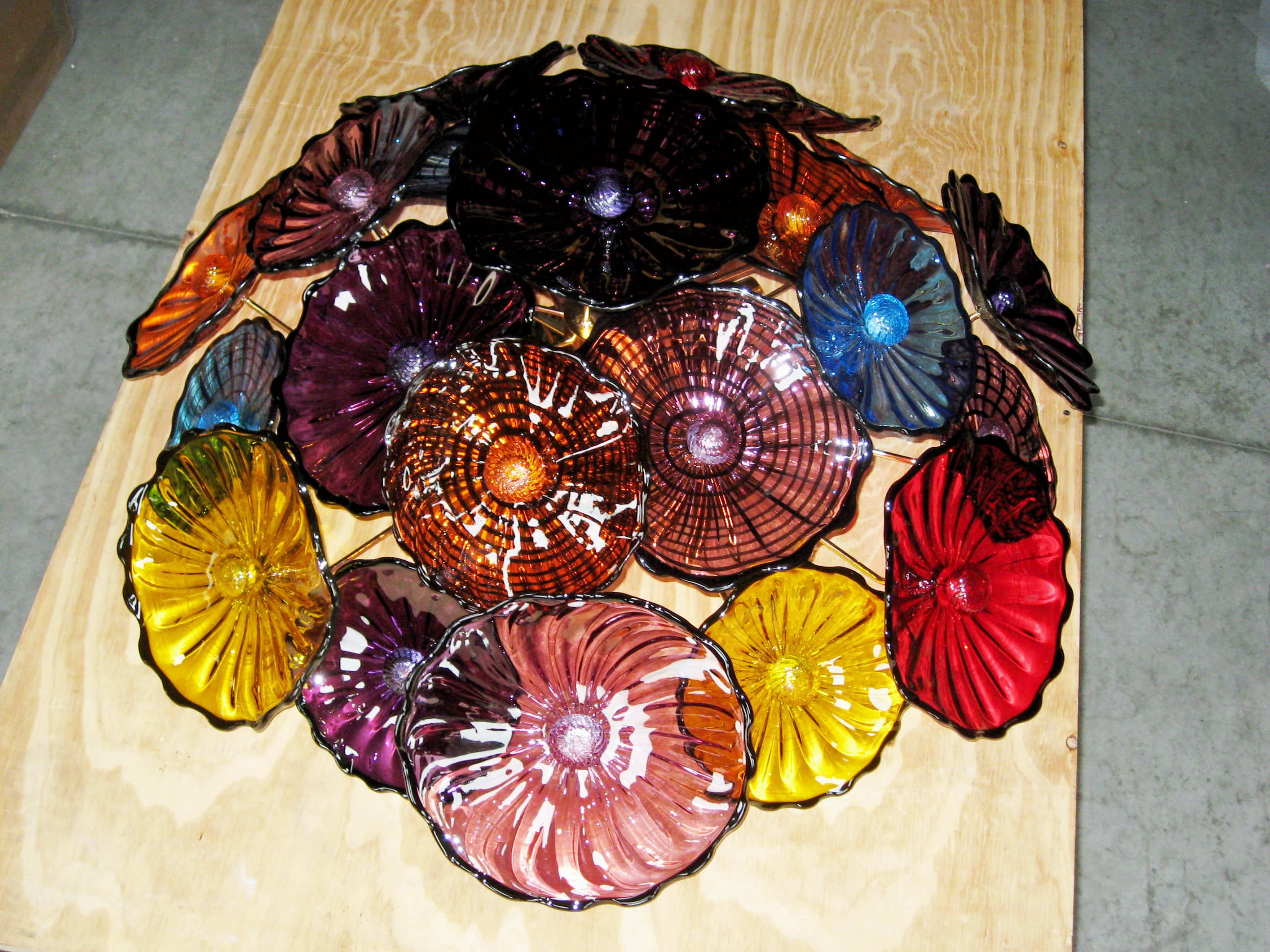 Italian glass from Murano light shapes and colors Glass and
