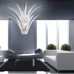 Sculture di luce: Custom contemporary chandeliers