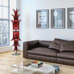 Murano italian glass: living room