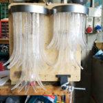 Lampadari da muro in vetro di Murano - sculture di luce