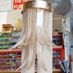 Murano italian glass - Venetian glass chandelier