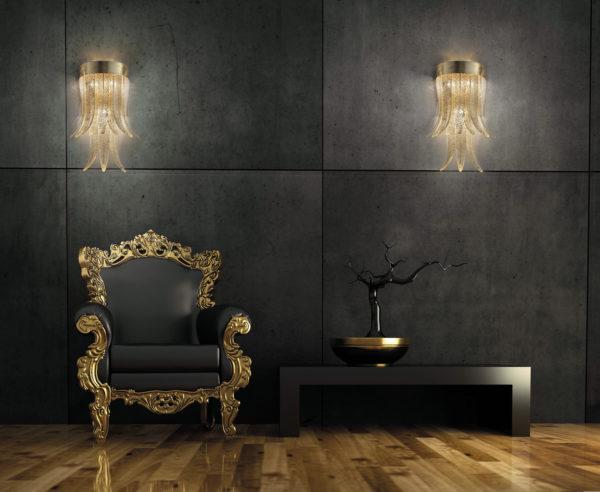Murano italian glass: 3D rendering